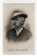 Cartolina  Fotografica Di Felice Cavallotti - Politico Radicale - Non Viaggiata - Dei Primi Del 1900 - (FDC14877) - Hommes Politiques & Militaires