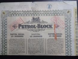 Petrol-Block , N°042434 - Shareholdings
