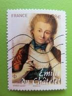 Timbre France YT 5294 - Personnalité - Emilie Du Châtelet - 1ère Femme De Sciences Française - 2019 - Used Stamps