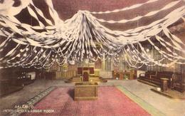 MASONRY / FRANCMAÇONNERIE - SALEM : ELKS LODGE ROOM - INTERIOR ~ 1910 - RRR ! (aa975) - Salem
