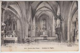 CPA Nedde - Intérieur De L'église - Frankreich