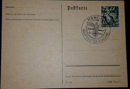 O) 1939 GERMANY, ASSUMPTION OF POWER BY THE NAZIS YOUTH CARRYNG TORCH AND LAUREL, POSTAL CARD - Other