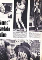 (pagine-pages)MARLENE DIETRICH  Tempo1960. - Libri, Riviste, Fumetti
