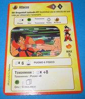 DRAGON BALL ALCHEMIA CARDS ITALY 061 - Dragonball Z