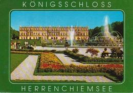 AK Herrenchiemsee - Königsschloss (40363) - Chiemgauer Alpen