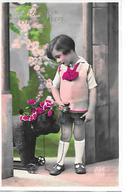 Teddy Bear, Ours En Peluche, Teddybär, Child With Teddy Toy On Wheels, Enfant Avec Jouet / 2 - Bambini