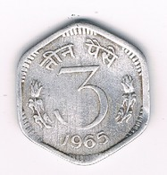 3 PAISE 1965 INDIA /3036/ - India