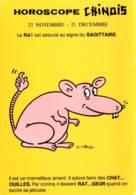 CPM - ILLUSTRATION G.MEUNIER - HOROSCOPE CHINOIS - RAT / SAGITTAIRE - Meunier, G.