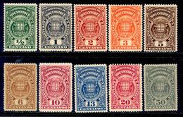 ! ! Mozambique Company - 1919 Postage Due (Complete Set) - Af. P 31 To 40 - MH - Mozambique