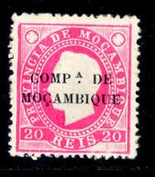! ! Mozambique Company - 1892 D. Luis 20 R - Af. 03 - MH - Mozambique