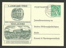 "1. Januar 1950 "" 100 Jahre Oberpostdirektion BERLIN "" - [7] République Fédérale"