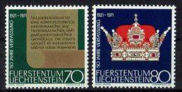 Liechtenstein 1971 // Mi. 546/547 ** - Liechtenstein