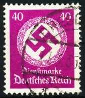 DEUTSCHES-REICH DIENST Nr 142 Gestempelt X643122 - Dienstpost