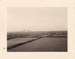 Foto Rendsburg - Hochbrücke über Nord-Ostsee-Kanal - Ca. 1940 - 5,5*4cm (40377) - Orte