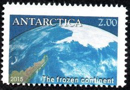 Antarctica Post From Space. White Lines Above The Value Error. And Off-set Perforations. - New Zealand
