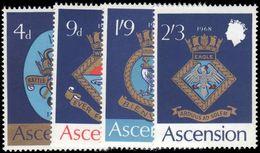 Ascension 1969 Royal Navy Crests (1st Series) Unmounted Mint. - Ascension (Ile De L')