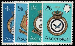 Ascension 1970 Naval Crests Unmounted Mint. - Ascension