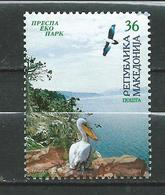 Macedonia / Macedoine  2004 Prespa National Park.birds.pelicans. MNH - Macédoine