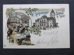 AK KORNEUBURG Adelskorrespondenz Erzherzog Eugen Hofpost Portofrei Hof !!  1897 SELTEN//  D*37351 - Korneuburg