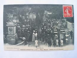 BARCELONNETTE - Place Manuel - Fanfare Du 28e Chasseurs. - Barcelonnette