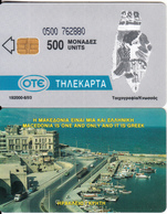 GREECE - Boats, Herakleion(500 Units), CN : 0500, 06/93, Used - Boats