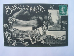 Cpa BARCELONNETTE - .Multivues. - Barcelonnette