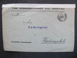 BRIEF Bahnpost Zugstempel Röwersdorf - Hotzenplotz 1909    //  D*37367 - 1850-1918 Imperium