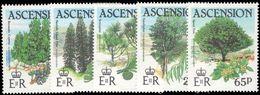 Ascension 1985 Trees Unmounted Mint. - Ascension (Ile De L')