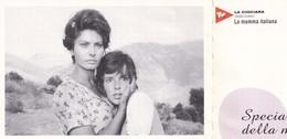 "Cartolina ""La Ciociara"" (Sofia Loren). Regia Di Vittorio De Sica - 1960. Tv Film - Cine"