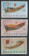 °°° MOZAMBICO - Y&T N°513/17/18 - 1964 MNH °°° - Mozambico