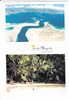 "MAYOTTE, Océan Indien, La Passe En ""S"", Plage De M'Tsamboro, Cocotiers, Photo C. Schaub, Ed. Spice 1990 Environ - Mayotte"