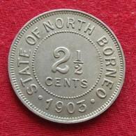 British North Borneo 2.1/2 Cent 1903 - Coins