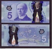 Canada, 2013, UNCL, 5$, Espace, Astronaute, Bra Spatial Canadien, Canadarm, Space - Canada