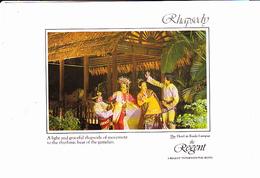 MALAYSIA, KUALA LUMPUR, Hôtel The Regent, Jalan Sultan Ismail RHAPSODY, Gamelan, 1990 Environ - Malaysia