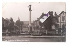RP NEWTON ABBOT WAR MEMORIAL 1927 DEVON POSTCARD FAULTS CHAPMAN & SON DAWLISH - England