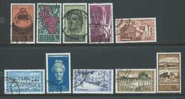 Cyprus 1962 Definitives Short Set Of 10 To 100 Mils FU Cds - Cyprus (Republic)