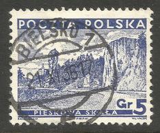 POLAND. POSTMARK. BIELSKO. USED - 1919-1939 Republic