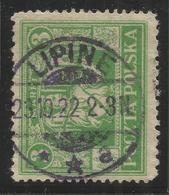 POLAND / SILESIA. LIPINE POSTMARK. 3M USED - 1919-1939 Republic