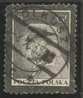 POLAND. OLKUSZ POSTMARK. 5gr USED - 1919-1939 Republic