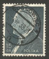POLAND. POSTMARK. SOSNOWISC. USED - 1919-1939 Republic
