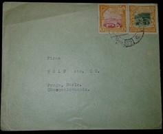 O) 1932 ECUADOR, COCOA -CACAO-CULTIVATING, PLOWING, CENTENARY OF FOUNDING OF REPUBLIC, TO CZECHOSLOVAKIA, XF - Ecuador