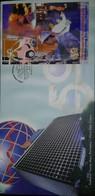 L) 1999 MALAYSIA, TENAGA MALYSIA JUBILEE, POWERING  THE NATIONS  PROGRESS, PEOPLE, INDUSTRY, FDC - Malaysia (1964-...)
