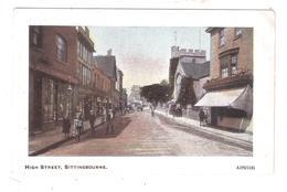 HIGH STREET SITTINGBOURNE THE ARCADIAN SERIES UNUSED - England