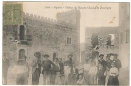 CORSE CPA  ALGAJOLA - Chateau De Madame Chauvel De Chauvigny - France