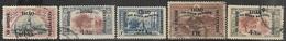 Mesopotamia   1918-21    5 Diff  Used To The 1R    2016 Scott Value $19.30 - Iraq