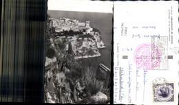 606432,Foto Ak Principaute De Monaco Le Rocher Vu Du Jardin Exotique - Ohne Zuordnung