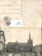 606386,Liege Lüttich La Cathedrale Kathedrale - Belgien