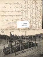 606385,Liege Lüttich La Passerelle Brücke - Belgien