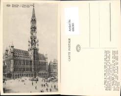 606381,Brüssel Bruxelles Hotel De Ville Rathaus Town Hall - Belgien