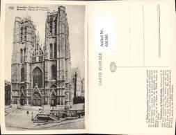 606380,Brüssel Bruxelles Eglise Sainte Gudule Kirche Church Of Ste Gudule - Belgien